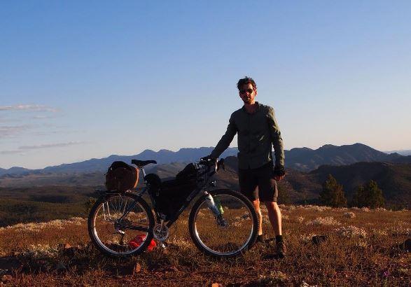 Jody on a trip in the Flinders Ranges.